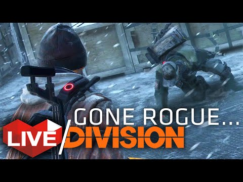 The Division: Dark Zone Rogue Playing Killing & Looting! | Multiplayer Live Stream
