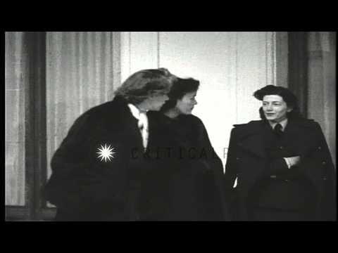 Soviet Premier Joseph Stalin and Soviet Foreign Minister Vyacheslav Molotov in Li...HD Stock Footage