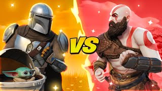MANDALORIAN VS KRATOS