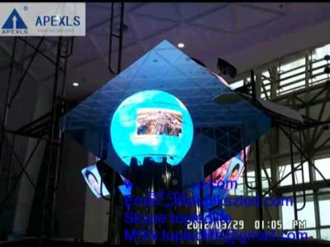 4mm indoor led globe display
