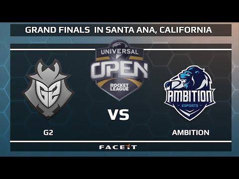 G2 vs Ambition - WB R1 - Universal Open Rocket League Grand Finals