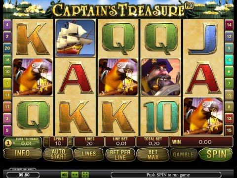 Секрет игрового автомата Captains Treasure Pro (Сокровища Капитана)