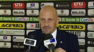 Mister Di Carlo prima di Spal-Spezia 09-12-2016