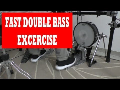 Double Bass Exercises   How to start practicing Fast Double Bass Drumming
