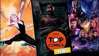 Más películas del Spider-Verse I Cancelan Daredevil I ¿Trailer de Avengers 4?