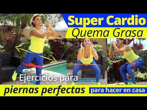Quema grasa con cardio para principantes ejercicios para piernas perfectas desde tu casa by - Quema grasa desde casa ...