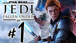 Star Wars Jedi Fallen Order - Parte 1: Cal Kestis!!! [ Xbox One X - Playthrough ]