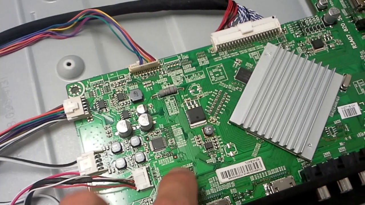Troubleshooting and repairing Hisense 50H5G
