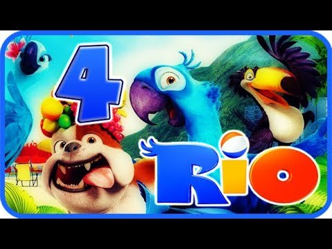 Rio Walkthrough Part 4 - Movie Party Game (PS3, X360, Wii) Story Mode 4: Aviary