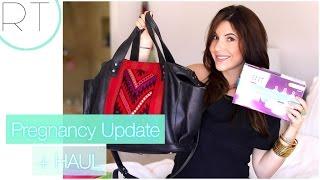Pregnancy Update + Baby Haul (Diaper Bag, Stroller, Bottles)