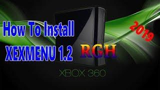 Installing XeXmenu 1.2 On RGH XBOX 360 2019