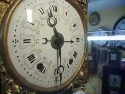 Comtoise With Date And Alarm