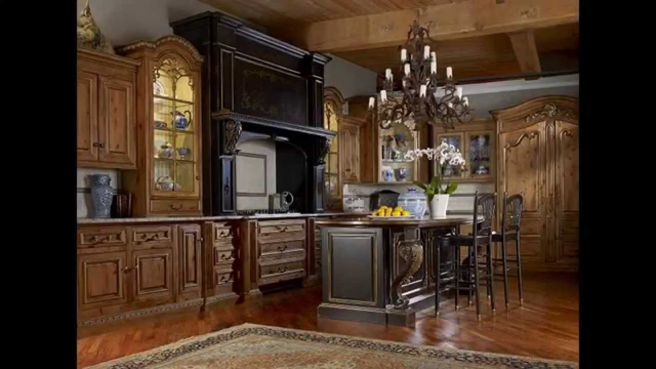 Creative Rustic Kitchen Cabinets Design Youtube
