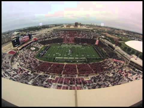 Time-lapse of Jones AT&T Stadium vs. Arkansas