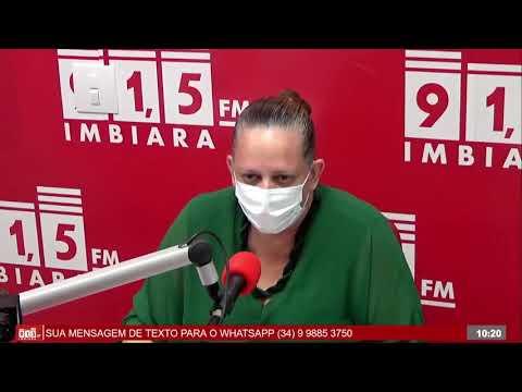 Entrevista secretária de Ação Social - Cristiane Gonçalves Pereira