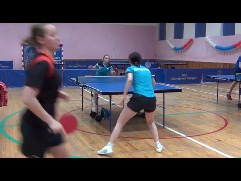 Полина ДУБИНЧИК - Мария ПЕТРАКОВА 3 МЕСТО Конаковская весна Table Tennis Настольный теннис
