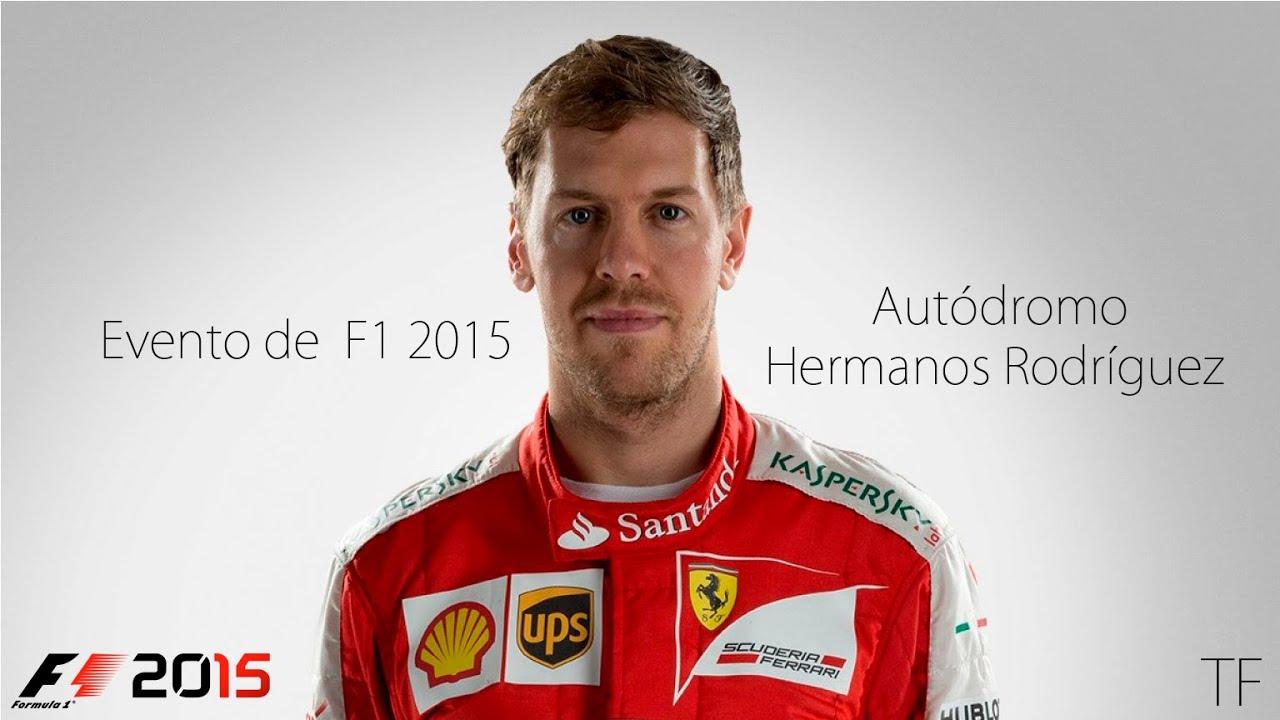 Evento de f1 2015 aut dromo hermanos rodr guez youtube for Puerta 5 autodromo hermanos rodriguez