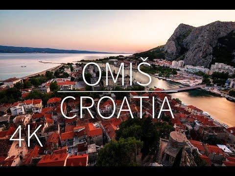 Omiš in 4K | Croatia
