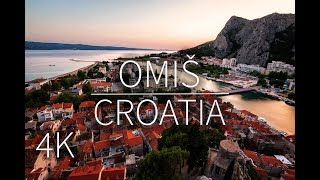 Omiš in 4K | Croatia