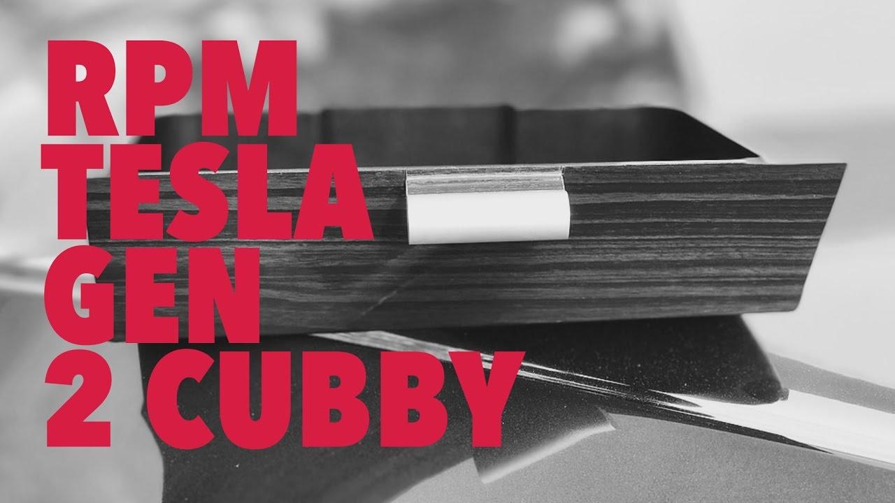 Let's Talk Tesla: RPM Tesla Gen 2 Cubby