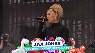 Jax Jones - 'You Don't Know Me' ft. Raye (live at Capital's Summertime Ball 2018)