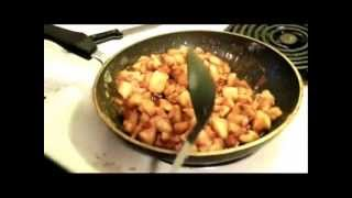 How You Cook: Caramel Apple Topping For Ice Cream