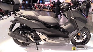 2018 Honda Forza 125 ABS Scooter - Walkaround - 2017 EICMA Motorcycle Exhibition