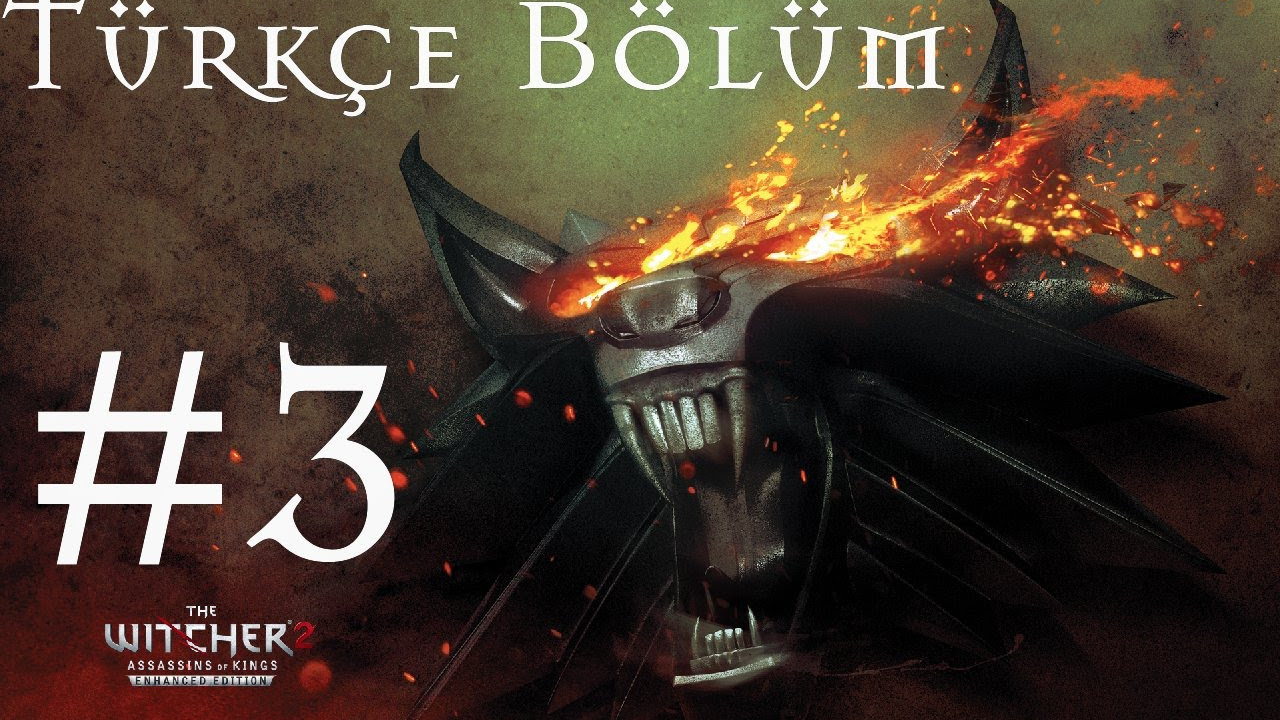 The Witcher 2 Türkçe - Bölüm 3 - Kral katili - (Koyu (Dark) Zorluk)