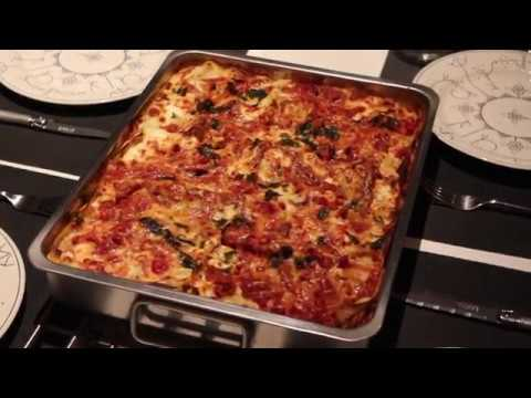 recette lasagne d 39 amour youtube. Black Bedroom Furniture Sets. Home Design Ideas