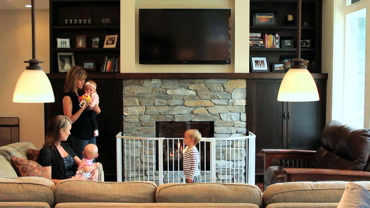 An overview video of how to stay safe near your fireplace using Barrier Screens and Safety Gates. http://valorfireplaces.com/safety