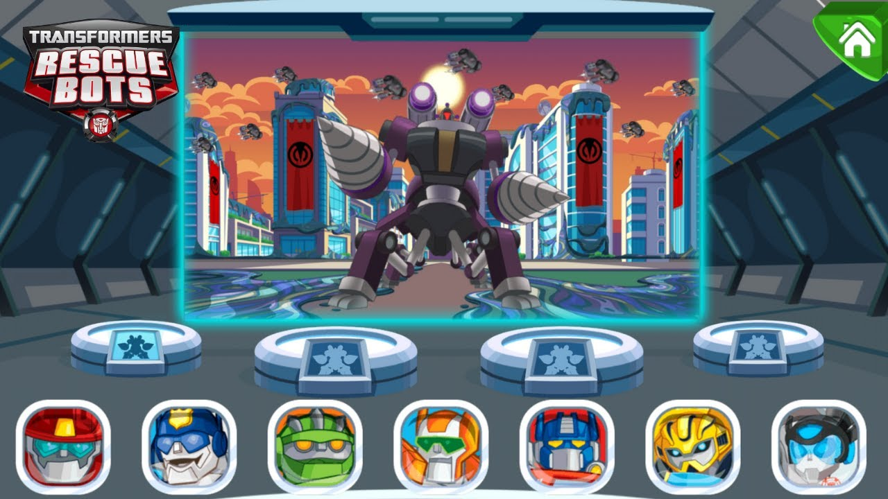 Transformers Rescue Bots: Dash 🤖 Destroy the Morbot King!