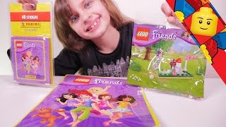 [LEGO FRIENDS] Mini-Golf et Album Panini - Studio Bubble Tea unboxing Lego Friends stuff