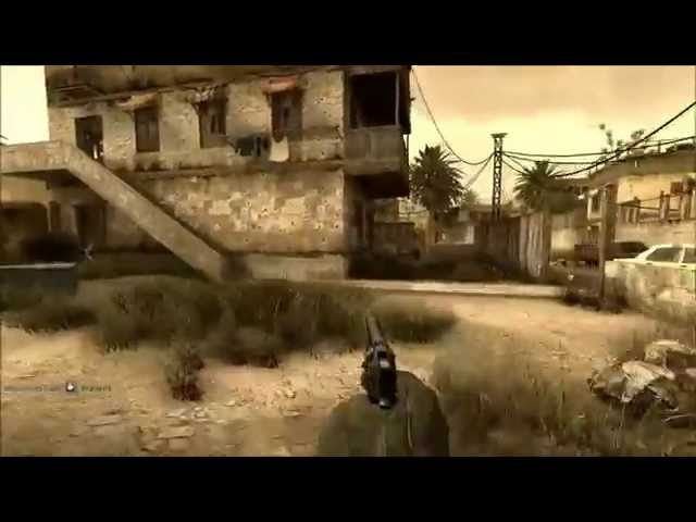CoD 4 multiplayer com Ambient Oclusion