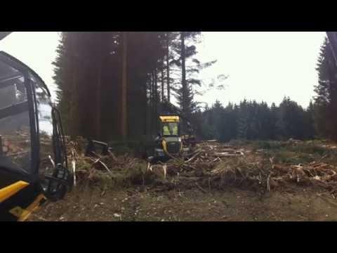Forestry Harvesting Demo 2014.