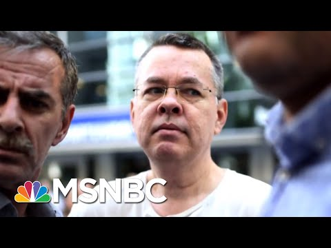 Turkish Court Orders Release Of American Pastor Andrew Brunson | Craig Melvin | MSNBC