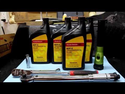 How to Service CVT Transmission Honda Accord 2013, 2014, 2015 HCF-2