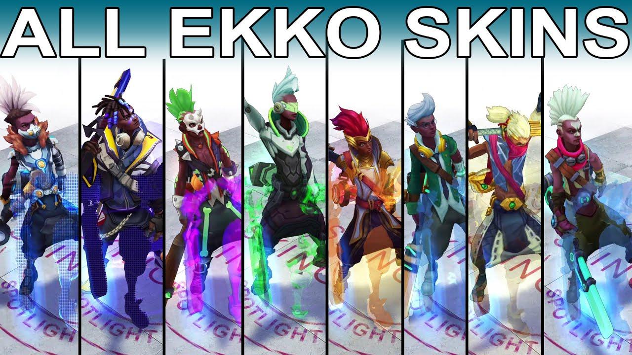 Best Ekko Skin