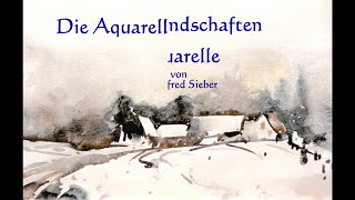 Winterlandschaften in Aquarell