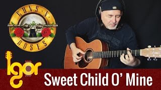 Guns N' Roses - Sweet Child O'Mine - Igor Presnyakov - fingerstyle guitar cover