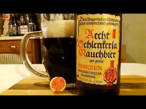 Aecht Schlenkerla Rauchbier Marzen (5.1% ABV) DJs BrewTube Beer Review #658