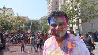 Happy Holi : Celebrate new life - let go of fears and inhibitions