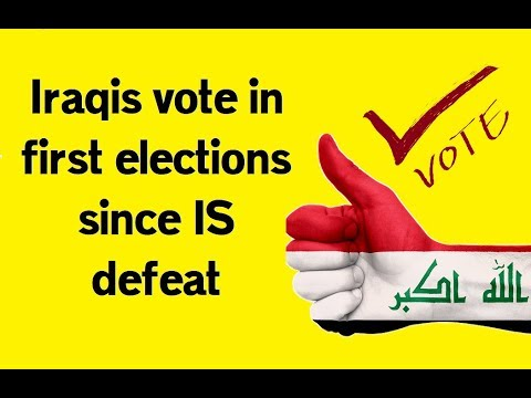 Iraqis vote in first elections since IS defeat - Iraq Election Dailymagup