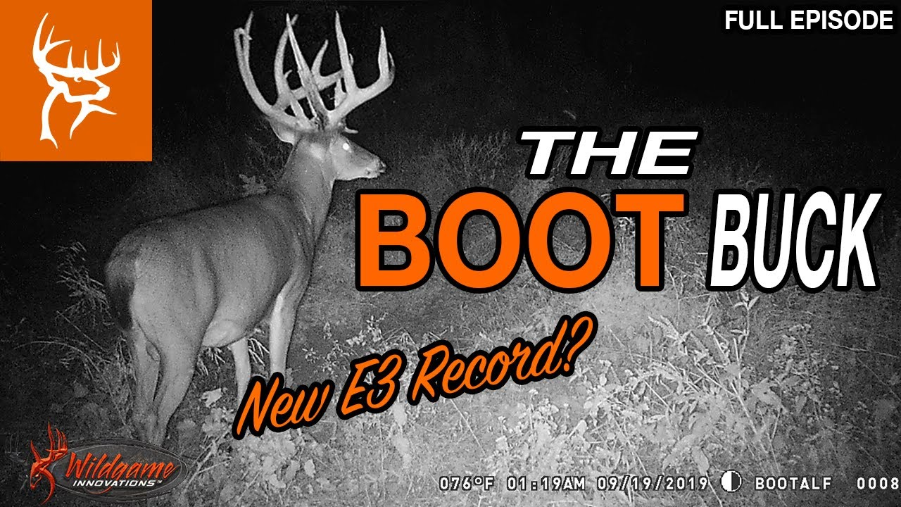 THE BOOT BUCK | ROCHEY'S Biggest with a BOW? | Buck Commander | Full Episode