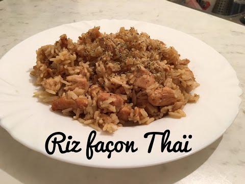 riz-façon-thaï