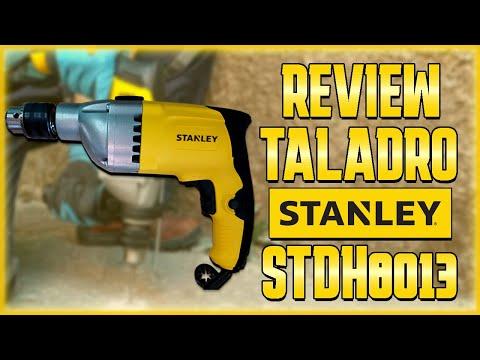 Review Taladro STANLEY 800W STDH8013