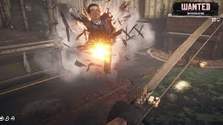 Red Dead Redemption 2: Brutal Action Gameplay - Hideout Clearing & Explosive Bow Rampage - Vol.8