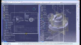 CATIA V5 Functional Tolerancing & Annotation (FTA) and 2D Layout for 3D Design (LO1)
