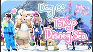 UNDERWATER CASTLE & PINK BURGERS!??♪ | Day 6 - Tokyo DisneySea ºoº | Abipop in Japan 3 - 2017 ♡