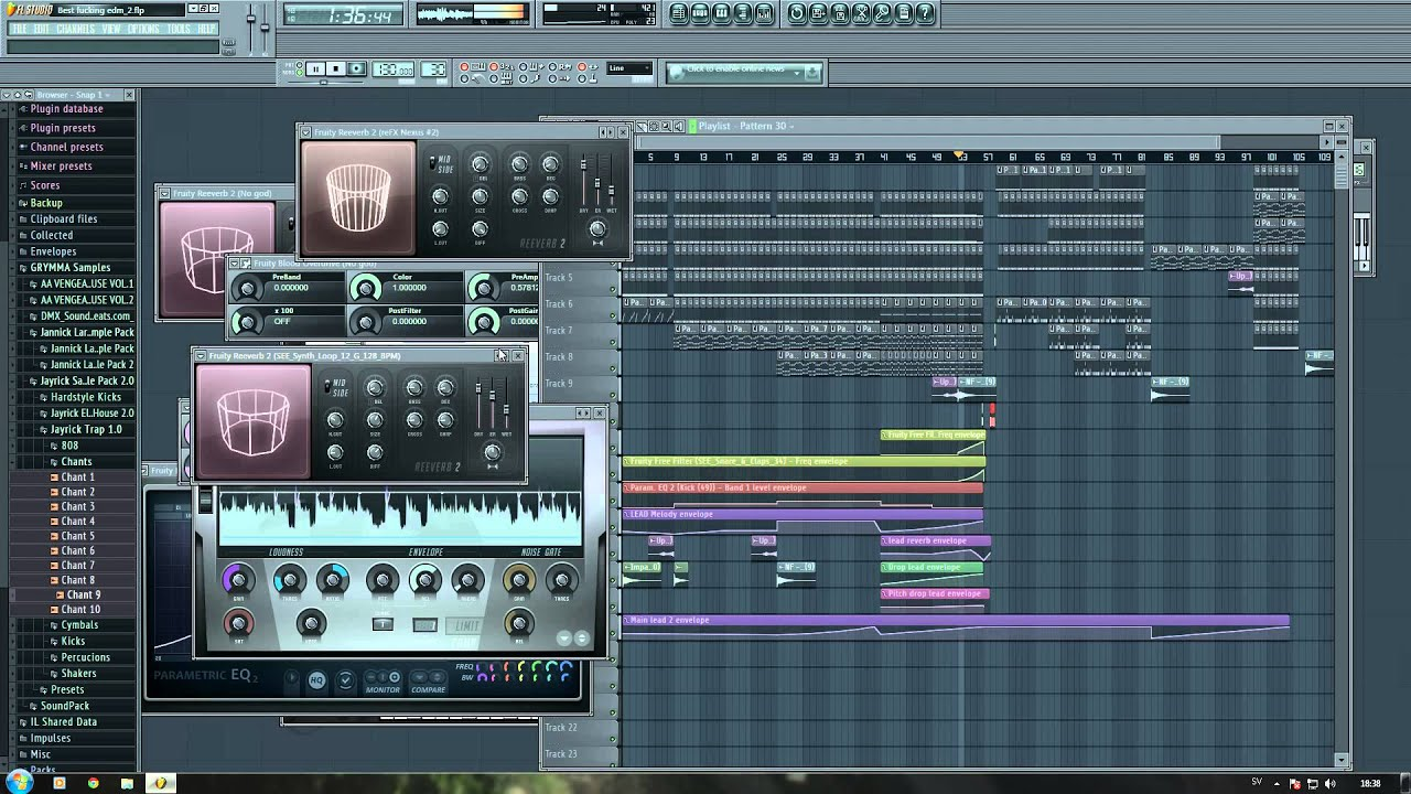 Fl Studio 11 Professional Edmbig Room Wickerts Youtube
