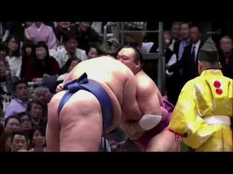 Sumo -Haru Basho 2018 Day 3, March 13th -大相撲春場所2018年3日目